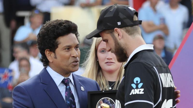 With this feat, Kane Williamson became the second skipper to win the player of the tournament in the history of World Cup. New Zealand's Martin Crowe had achieved the feat in 1992 World Cup. (Photo: AFP)