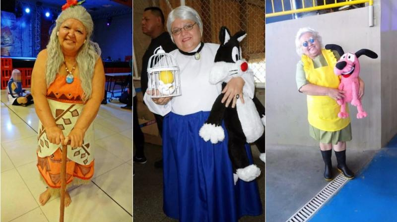 Tia sol in all her creations (Photo: Facebook)