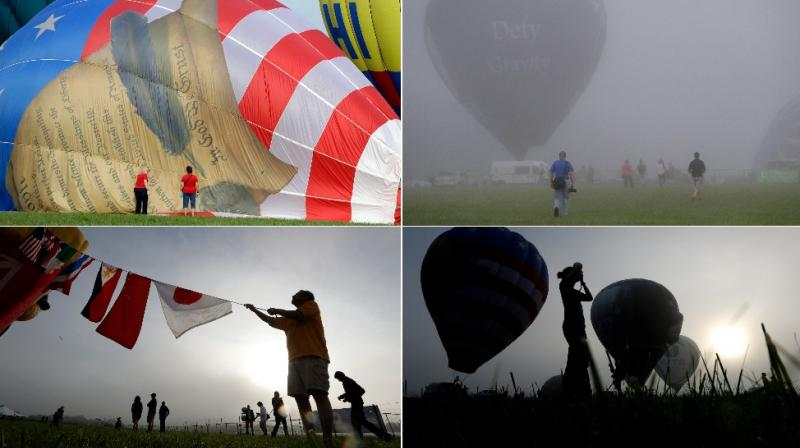 Moments from the New Jersey Festival of Ballooning (Photo: AP)