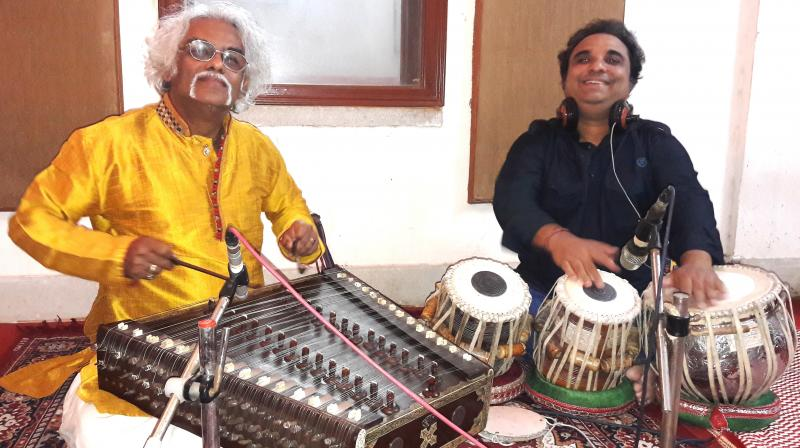 Santoor Maestro Pdt Tarun Bhattacharya and Pdt Prodyut Mukherjee
