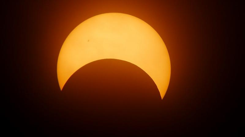 Eclipse-watchers in Chile were not disappointed on Tuesday. The 95-mile (150-kilometer) band of total darkness moved eastward across the open Pacific Ocean late in the afternoon, making landfall in Chile at 4:38 p.m. EDT (2038 GMT).