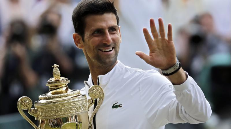 Before this match, Federer and Djokovic had faced each other three times in Wimbledon. (Photo: AP)