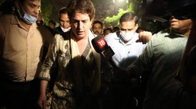 UP violence: Priyanka, Deepender Hooda detained; Akhilesh stopped in Lucknow
