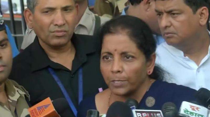 Defence Minister Nirmala Sitharaman on Thursday said that the operation of the Armed Forces (Special Powers) Act (AFSPA) can be withdrawn only when there is a change in the ground situation in areas where the law is in force. (Photo: File)
