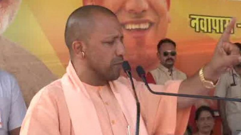 'It would have been good had the Muslim community taken an initiative to end the issue when the Supreme Court gave time for mediation, but that did not happen. People can only move towards a solution when they think positively, but when they are stubborn, then only the Supreme Court can take a decision,' Adityanath said. (Photo: ANI)