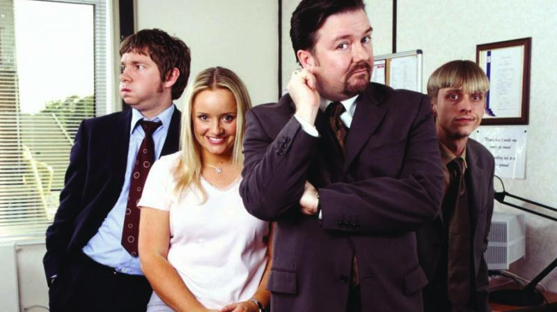 A remake of the international series The Office (picture used is for reference only)