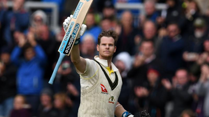 England ended day two of the final Test in a strong position after bundling out Australia for 225 in the first innings, gaining a lead of 69 runs here at the Oval. (Photo: AFP)