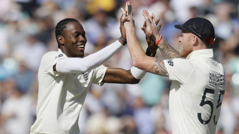 After bowling out Aussies, England just had to face four overs and openers Rory Burns and Joe Denly ensured they do not lose a wicket and the side finished the day at 9/0, taking the lead to 78. (Photo: AP)