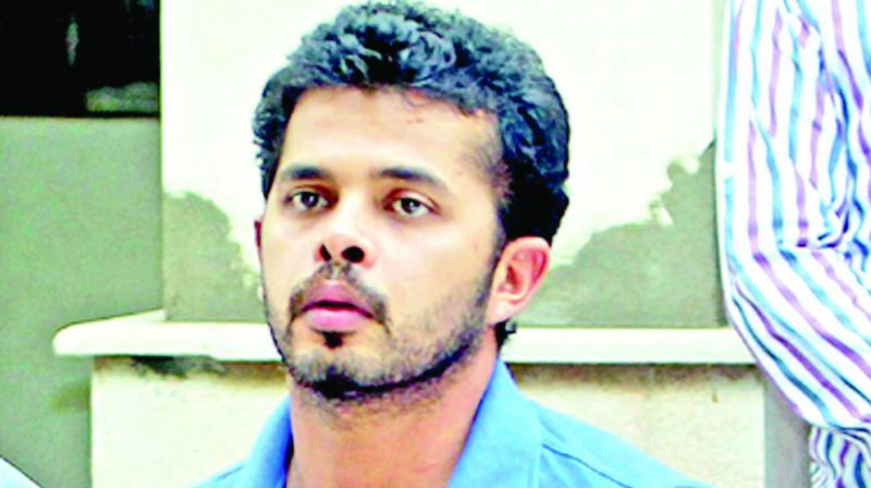 S Sreesanth maintains that he is not guilty and that he has never ever fixed a match in his entire life. (Photo: File)
