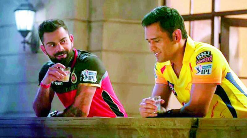 Virat Kohli and MS Dhoni ready for a face-off