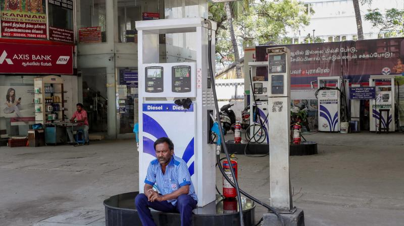 Most Indians were expecting a cut in petrol and diesel prices after international prices fell below USD 35 per barrel earlier this week. (PTI)