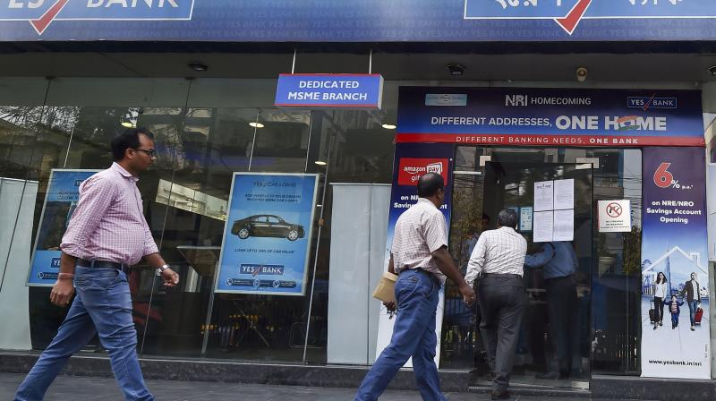 The new board of Yes Bank, led by Prashant Kumar, will take over by the end of March. (AFP)