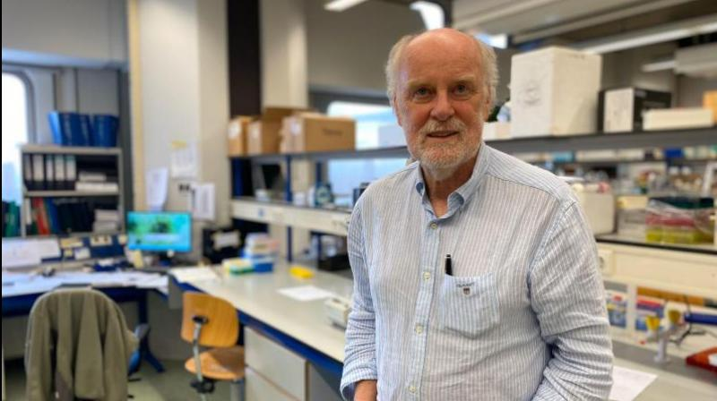 Cell biologist Prof Frank Grosveld, one of the members of the research team.