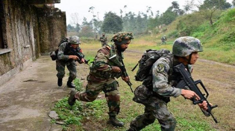 The combined exercise will simulate a scenario where both nations are working together in counter insurgency and counter terrorism environment in mountainous terrain. (Representational Image)