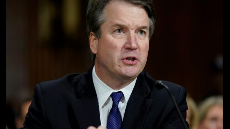 In a passionate defense, the 53-year-old conservative judge insisted before the Senate Judiciary Committee that it never happened, accused Democrats of destroying his reputation and condemned his confirmation battle as a 'national disgrace' and a 'circus'. (Photo: AFP)