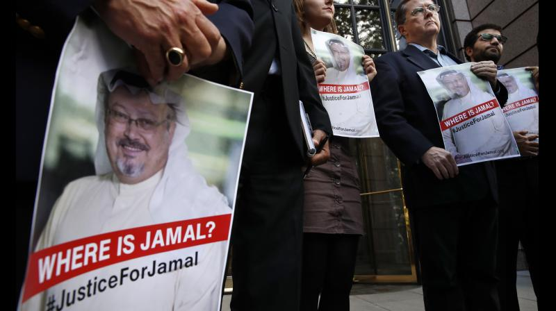 Khashoggi has been missing since he stepped inside the Saudi consulate in Istanbul on October 2. (Photo: AP)