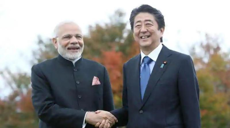 Prime Minister Narendra Modi and Japan's Prime Minister Shinzo Abe (Photo: AFP)