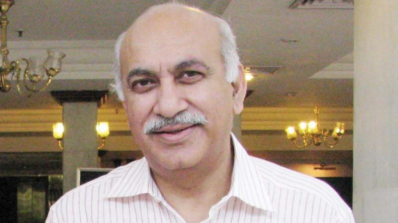 Fomer Minister of State for External Affairs M J Akbar. (Photo: File)