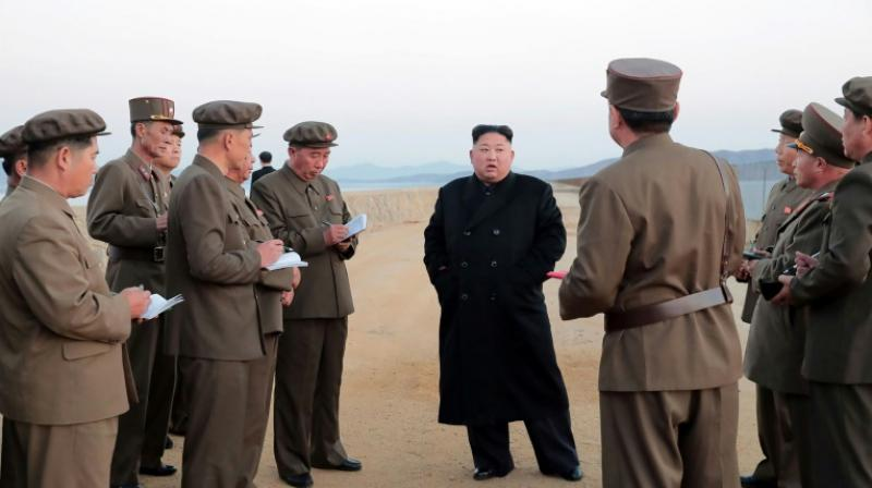 North Korea's official news agency released only one picture to accompany its report on the weapons test, one that gave few clues as to what kind of device was involved. (Photo: AFP)