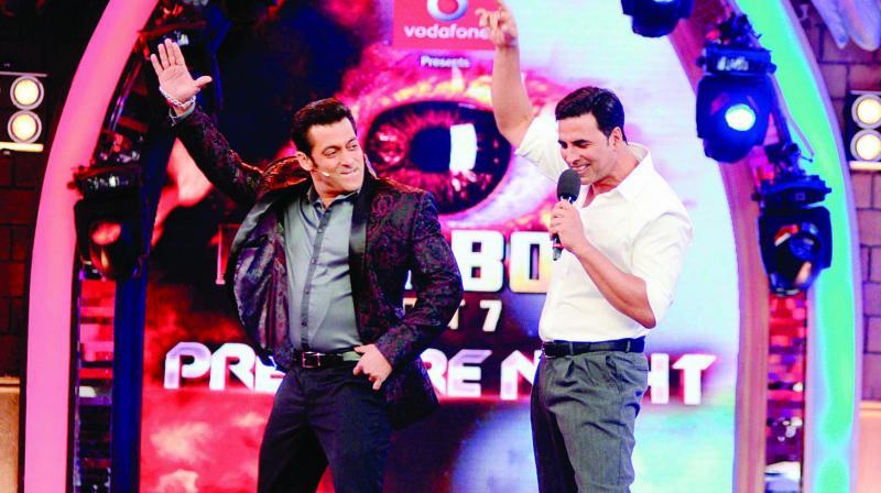 Salman Khan and Akshay Kumar
