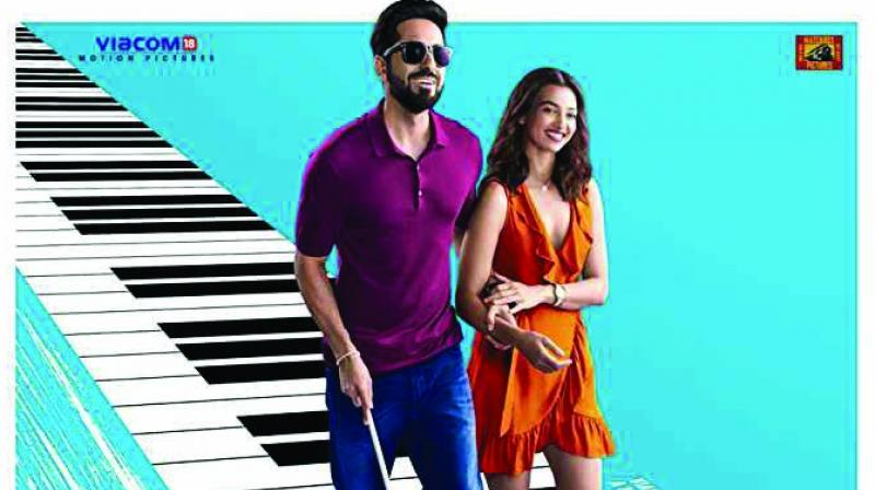 One of 2018's surprise successes featured Ayushmann Khurrana as a blind man who may or may not be blind.