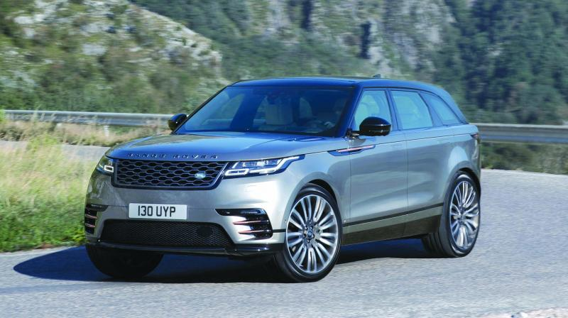 Tata Motors-owned British luxury car maker Jaguar Land Rover on Tuesday launched the locally assembled Range Rover Velar SUV priced at Rs 72.47 lakh to boost sales in Asia's third biggest economy.