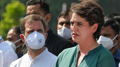 Congress to give 40% tickets to women in UP Assembly polls: Priyanka Gandhi Vadra
