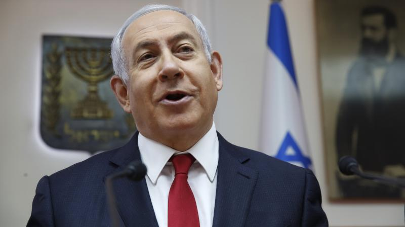 Benjamin Netanyahu. AP Photo