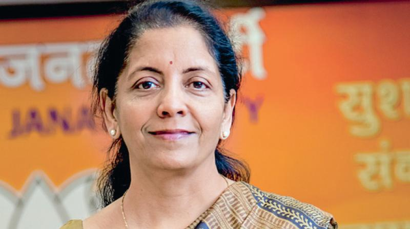 Union Minister for Commerce and Industry Nirmala Sitharaman.