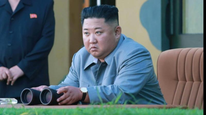 North Korean leader Kim Jong Un has said two missiles were fired under his supervision. (Photo: AFP)