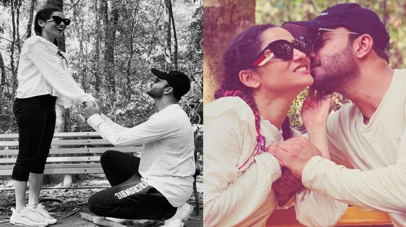 Ankita Lokhande and her boyfriend Vicky Jain. (Photo: Twitter)