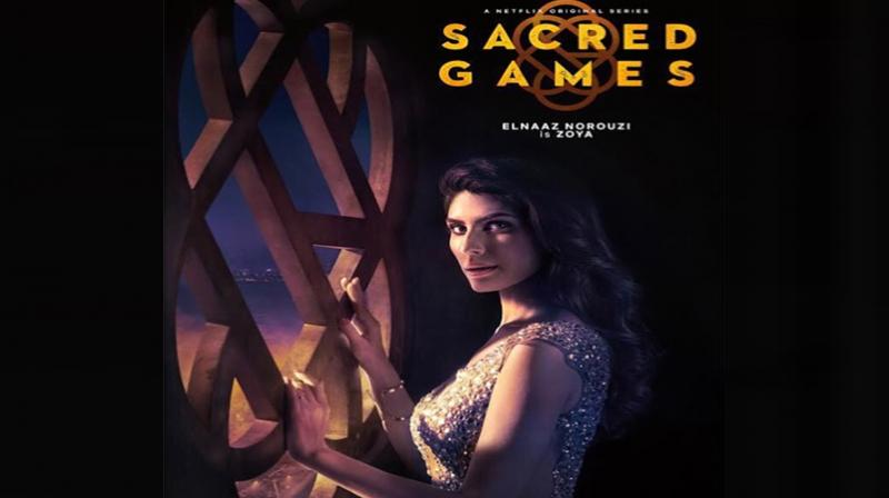 Elnaaz Norouzi in Sacred Games. (Photo: Instagram)