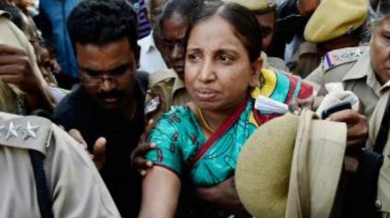 On June 11, the court observed that Nalini's right to appear in person to argue on her plea cannot be denied. (Photo: File)