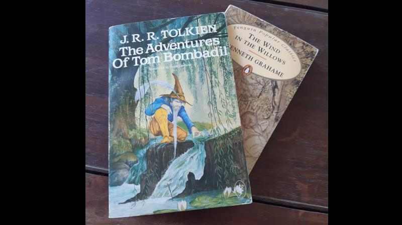 Children's literature, if you can call Tolkien that, has been a go-to from whenever I stopped being a child, if that ever happens either. (By arrangement)