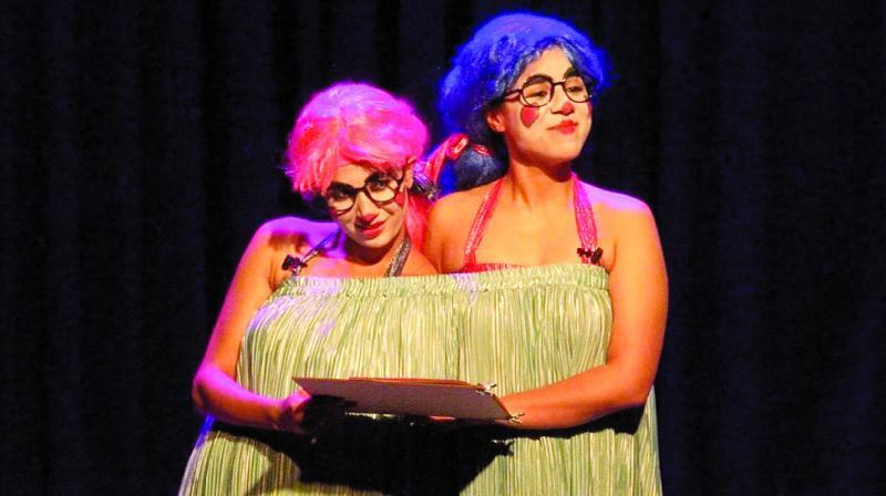 The Siamese twins, Vinay Pathak, Jim Sarbh as Jeeva,