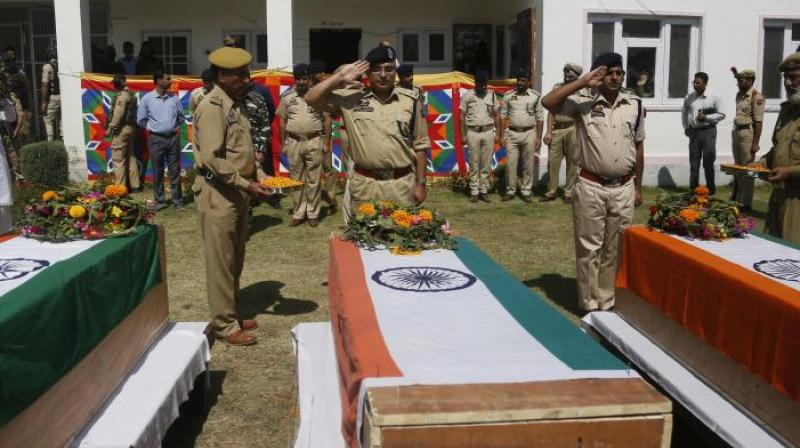 The identity of the slain men is being ascertained, a police spokesman said here. (Photo: File | PTI)