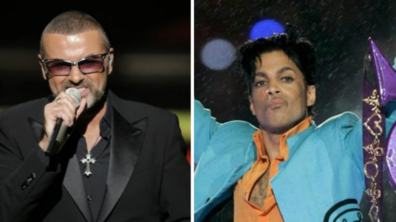 George Michael and Prince were some of the popular musical artistes who died in this year. (Photos: AP)