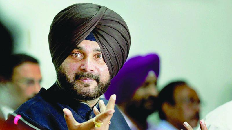 'Punjab Cabinet Minister Navjot Singh Sidhu campaigned across the country, addressing 80 rallies in 28 days. Continuous speaking has severely impacted his vocal cords to the extent that they bled at times,' an official release said. (Photo: File)