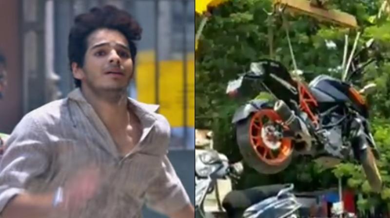 'Dhadak' actor Ishaan Khatter has recently gotten into trouble for breaking major traffic rule in Bandra, Mumbai. (Photo: Instagram)