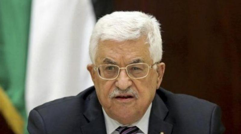 Palestinian president Mahmud Abbas expressed his thanks for North Korea's firm solidarity in support of the rights of our people and the just struggle to end the (Israeli) occupation. (Photo: File)