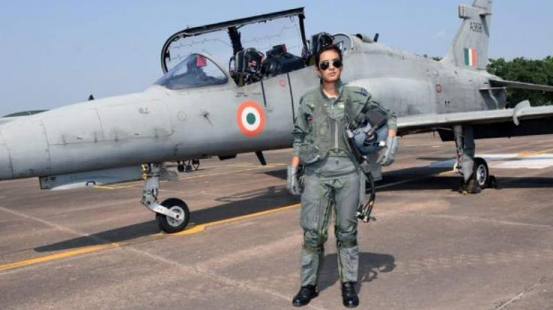 Her training involved flying both air-to-air combat and air-to-ground missions, it added. (Photo :ANI)