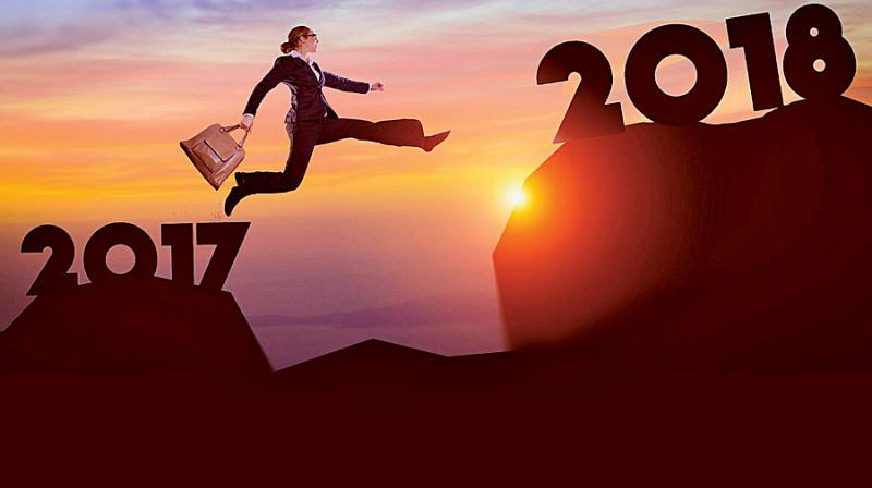 Jostling with your old self, you resolve towards making the New Year yours to achieve these goals.