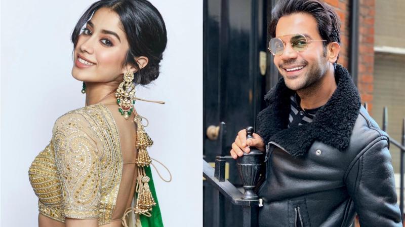 Janhvi Kapoor and Rajkummar Rao. (Photo: Instagram)
