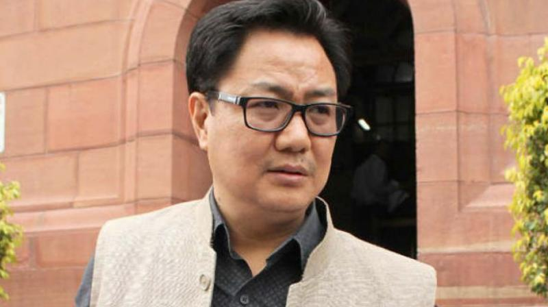 Minister of State for Home Kiren Rijiju said the government has reports that some of the Rohingyas have been involved in illegal activities but he would refrain from getting into details. (Photo: PTI/File)