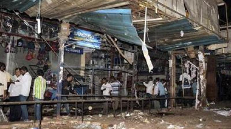 Two powerful explosions ripped through a popular eatery and an open air theatre, killing 44 people and wounding 68. (Photo: File | PTI)