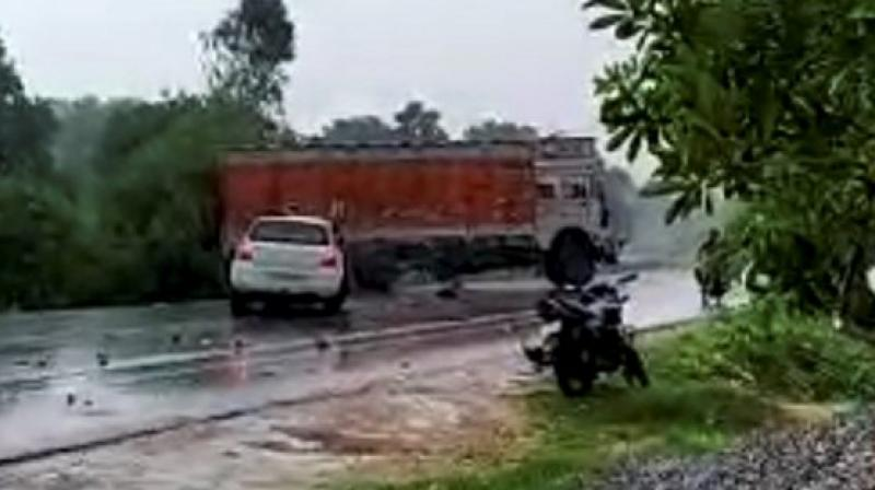 On Sunday, the survivor and her family were travelling to Rae Bareli to meet her uncle when her car had a head-on collision with a truck. Two of the survivor's aunts succumbed to their injuries.  (Photo: File)