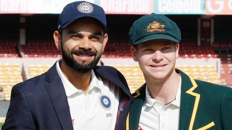 Australia coach Justin Langer feels Steve Smith is at par with Indian captain Virat Kohli as the world's best batsman. (Photo: BCCI/Official Website)