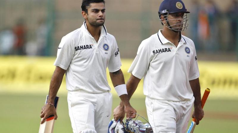 There is also the very real possibility that Kohli may surpass Dhoni in this series itself to become the most successful captain for Team India in Test cricket. (Photo: AP)