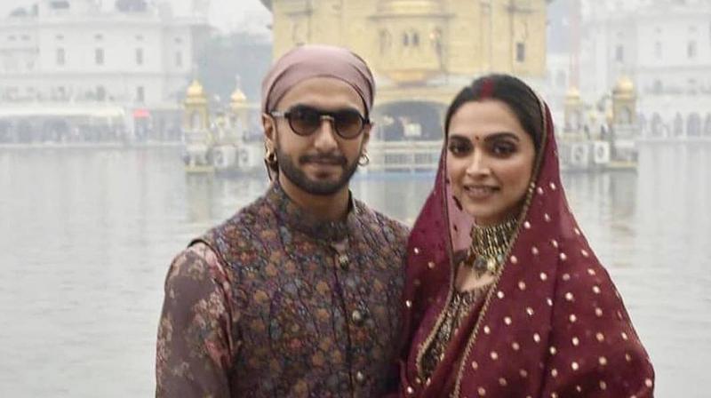 Ranveer Singh and Deepika Padukone. (Photo: Instagram)