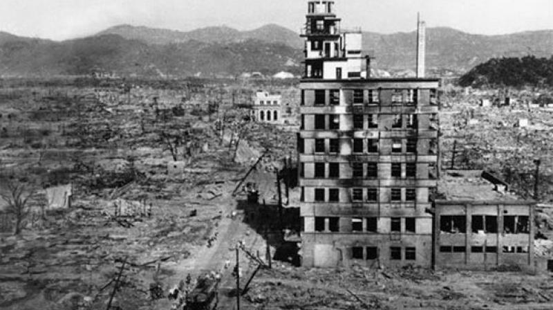 Hiroshima and Nagasaki were  devastating results of the invented nuclear capability. (Photo: AP)